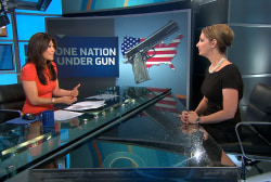 Shannon Watts discusses gun control