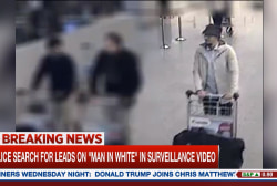 Search continues for suspects in Brussels...