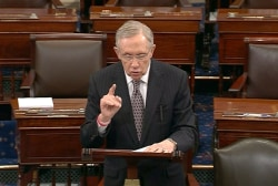 Harry Reid leads attack against Koch brothers