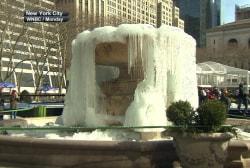 WATCH: Deep freeze hits Northeast