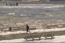WATCH: Deep freeze strikes Northeast