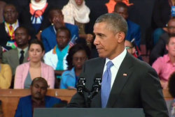 Pres. Obama tackles women's rights in Kenya