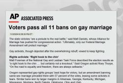Anti-gay bills take GOP legislatures by storm
