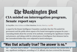 Senate study rips CIA torture report: leak
