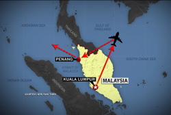 On news of missing plane, 'hope but verify'