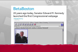 First congressional web page turns 20