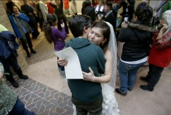 Utah couple's case unlocks same sex marriage