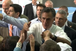 Romney surprises with reversal on running