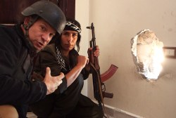 Engel first US correspondent in Kobani