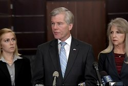 Charges filed against Virginia governor, wife