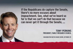 Impeachment, vetoes likely if GOP Congress