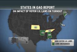 GOP-driven voting laws hurt turnout: report