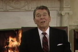 Ronald Reagan policy too liberal for Georgia