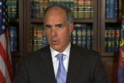 Sen. Casey: We have to send a message on...