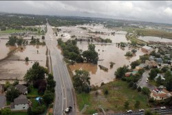 Colo. Police Cmdr: Floods 'effectively cut...