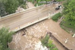 Heavy flooding continues in Colorado