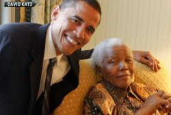 Mandela's influence on Obama