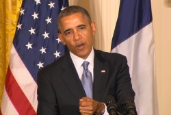 Clemons: Obama using 'prod of media' on Syria
