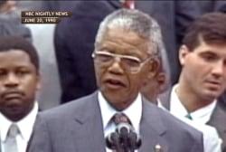Mandela's whirlwind 1990 US tour