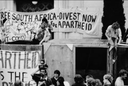 How anti-apartheid activism spread in America
