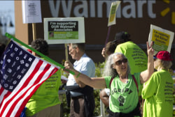 Walmart protests: 'A new holiday tradition'
