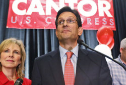 Cantor's loss rocks Washington politics