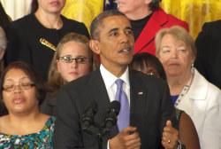 Obama: 'When women succeed, America succeeds'
