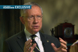 Reid: Stop picking on Sheldon Adelson