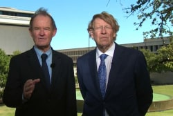 Old adversaries team up for gay marriage...