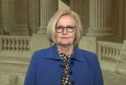 McCaskill: Bill will make military 'victim...