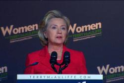 Hillary for president?