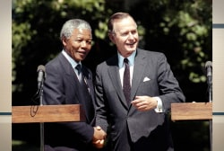 Mandela's mark on history