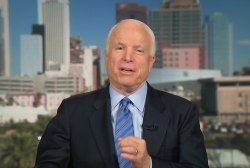 McCain:  No Military Option in Ukraine