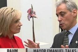 Mayor Emanuel talks contraception debate