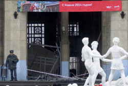 Deadly blasts loom over Olympics in Russia