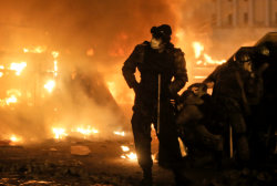 Protests continue to rage in Ukraine