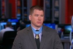 Hero reflects on receiving Medal of Honor