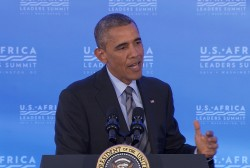 Obama speaks at US-Africa Leaders Summit