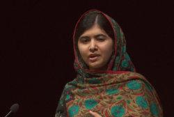 Malala speaks on Nobel Peace Prize