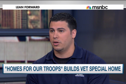 'Home for Troops' builds vet special home