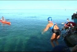 Diana Nyad closing in on finishing her...