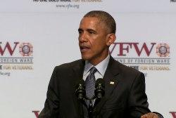 Obama to VFW: 'Thank you'