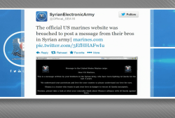 Syrian Electronic Army hacks into Marines...