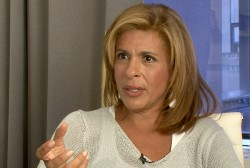 Hoda Kotb talks life on - and off - camera