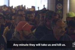 Syrian refugees in Budapest speak out