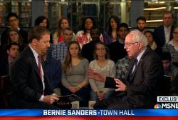 Sanders: Trump entices violence in America