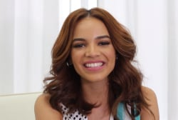 Leslie Grace on her idols and bilingual music