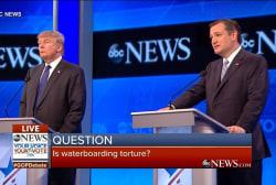 Cruz: Water boarding is not torture