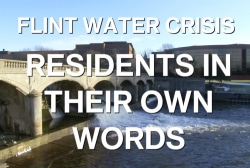 Flint residents in their own words
