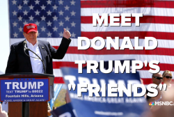 Meet the 'frenemies' of Donald Trump